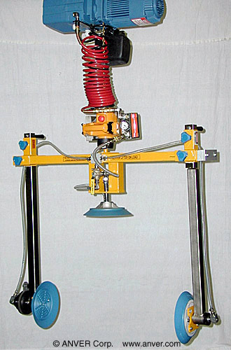 VM Series Hoist Integrated Lifter with Side Gripping Pad Attachment