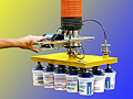 Vacuum Tube Lifter Picks Up Layers of Products