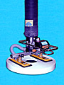 ANVER VT Series Tube Lifter with Two Pad Attachment for Lifting & Handling Small Cartons and Vinyl Rolls (shown) up to 105 lb (47.6 kg)