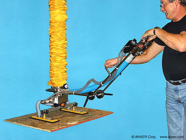 Tube Lifter with Compressed Air for Lift Release Assist Model#