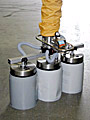 ANVER Vacuum Tube Lifter with Three Pad Attachment