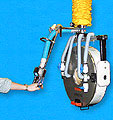 Vacuum Tube Lifting System for Lifting Rolls of Labels