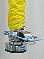 Vacuum Tube Lifter with Pad Attachment for Lifting Bags and Sacks
