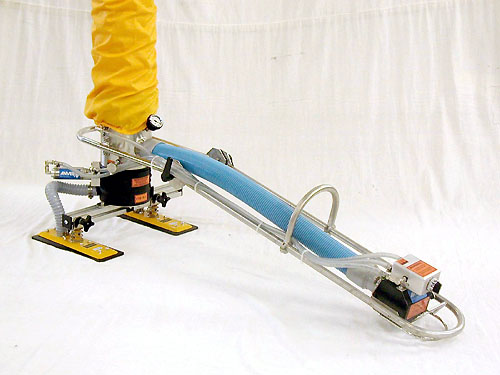 ANVER Vacuum Tube Lifter with Compressed Air for Lift Release Assist