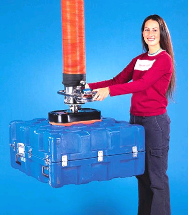 ANVER Standard VT Vacuum Tube Lift System with Foam Seal Vacuum Pad for Lifting Loads with Uneven Surfaces