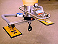 ANVER Vacuum Tube Lifter with Two Pad Attachment and Pail Lifting Hook