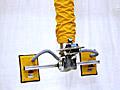 ANVER Vacuum Tube Lifter with Dual Pad Attachment and Pad Tilt Adapter