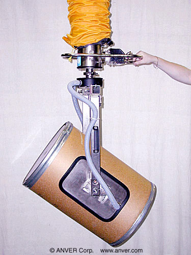 ANVER VT Vacuum Tube Lifter with Special Pad Attachment