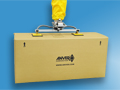 ANVER Vacuum Tube Lifter with Dual Pad Attachment for Lifting Large Cartons